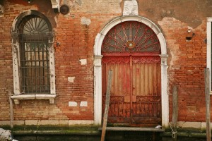 Arched Door on Canal