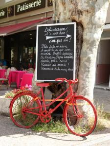 French Red Bike