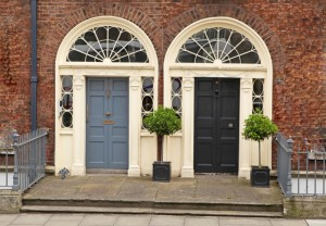 Two Doors in Dublin