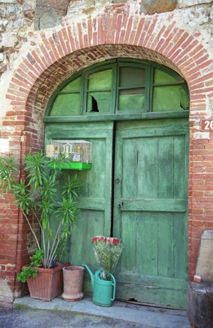 Door in Vagliogli
