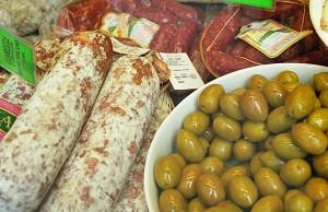 Salami & Olives